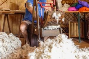 Il laboratorio della lana