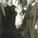 Nonna Maria, nonno Rodolfo e Paolo - 1951