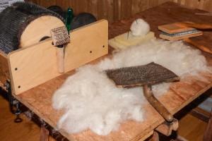 laboratorio lana feltro